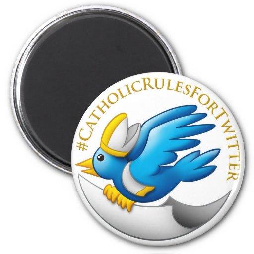 Imán de los #CatholicRules