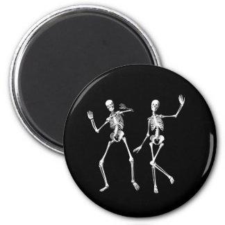 Imán de los esqueletos del baile