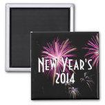 Imán de los fuegos artificiales del Año Nuevo 2014
