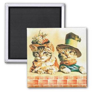 Imán de los gatitos del Victorian