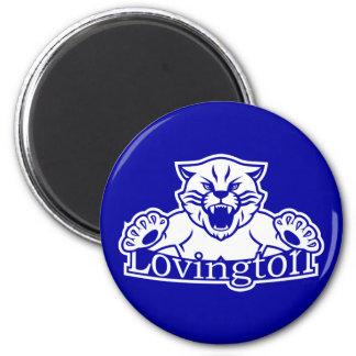 Imán de los gatos monteses de Lovington