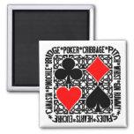 Imán de los juegos de tarjeta