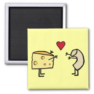 Imán de los macarrones con queso