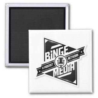Imán de los medios del Binge