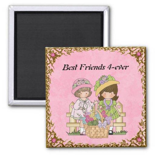 Imán de los mejores amigos