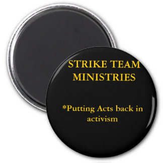 Imán de los ministerios del equipo de la huelga