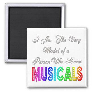 Imán de los Musicals de los amores