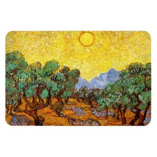 Imán de los olivos de Van Gogh