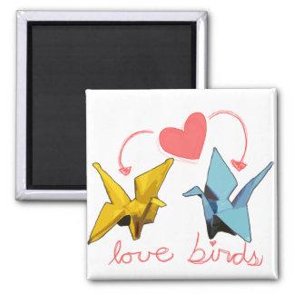 imán de los pájaros del amor