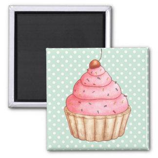 Imán de los pasteles de las tortas de las magdalen