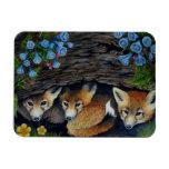 Imán de los perritos del Fox