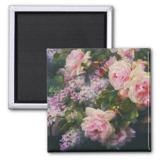Imán de los rosas y de las lilas del Victorian