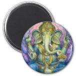 Imán de Lotus Ganesha
