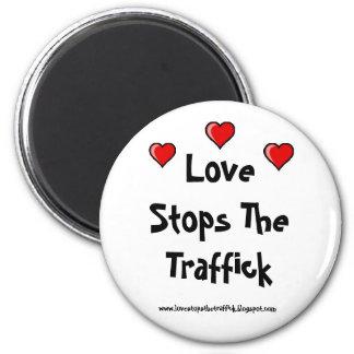 Imán de LoveStopsTheTraffick