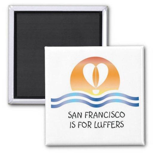 Imán de Luffers Sunset_San Francisco