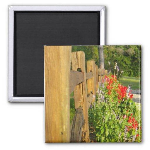 Imán de madera de la cerca