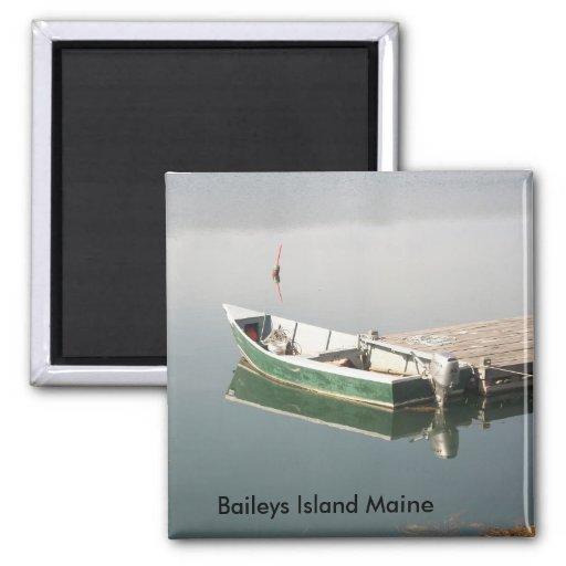 Imán de Maine de la isla de Baileys