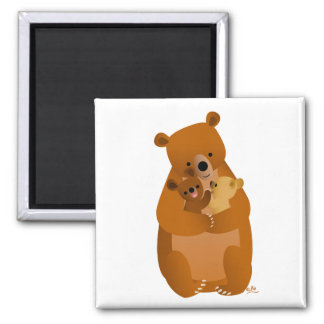 Imán de mamá Bear