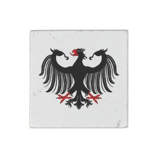 Imán de mármol de Eagle del alemán Imán De Piedra
