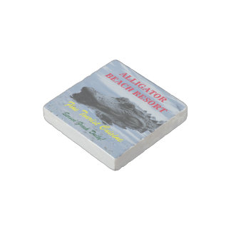 ¡Imán de mármol preparado personalizado - hágalo Imán De Piedra