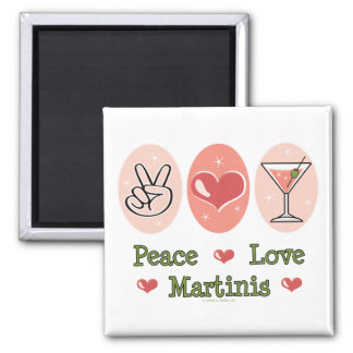 Imán de Martini del amor de la paz