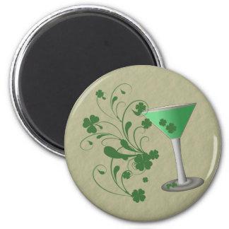 Imán de Martini del día de St Patrick
