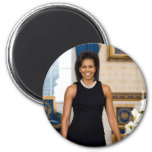 Imán de Michelle Obama