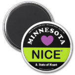 Imán de Minnesota Nice®