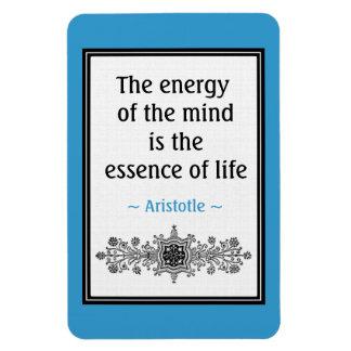 Imán de motivación de la cita de Aristóteles: Vida