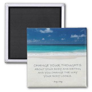 Imán de motivación de la pérdida de peso: Playa 20
