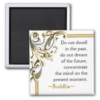 Imán de motivación del de la cita de Buda