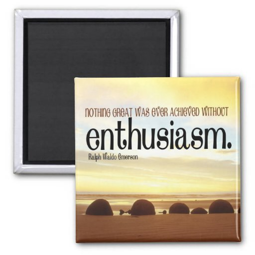 Imán de motivación del entusiasmo