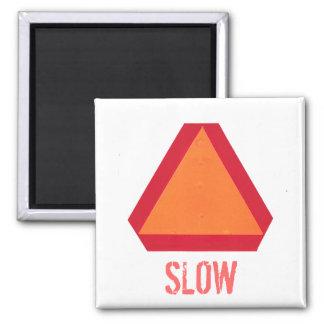 Imán de movimiento lento de la muestra del vehícul