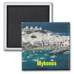 Imán de Mykonos