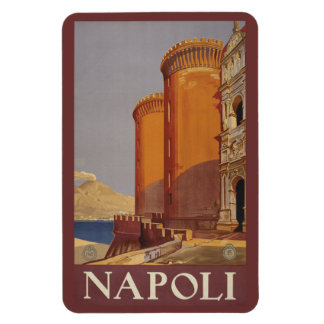 Imán de Napoli Nápoles Italia del vintage