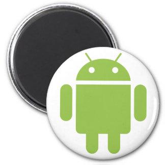 Imán de nevera Android
