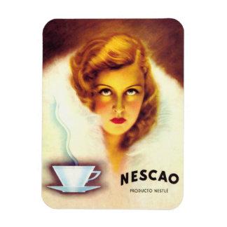 Iman de Nevera Anuncio Vintage Cacao Iman Rectangular
