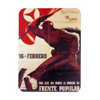 Iman de Nevera Propaganda Retro Vintage Imanes