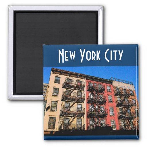 Imán de New York City (este)