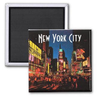 Imán de New York City neón