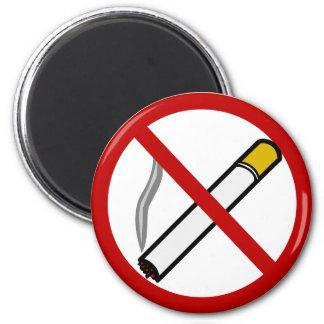 Imán de no fumadores