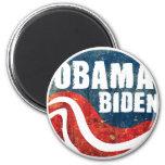 Imán de Obama Biden del Grunge