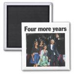 Imán de Obama de cuatro más años