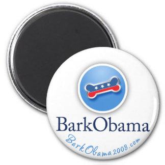 Imán de Obama de la corteza para los perros Democr