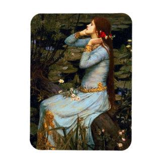 Imán de Ofelia del Waterhouse