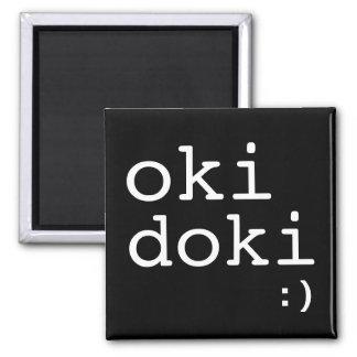 Imán de Oki Doki