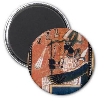 Imán de Osiris del libro egipcio de los muertos
