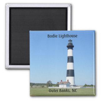 Imán de Outer Banks NC del faro de Bodie