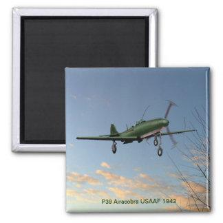 Imán de P39 Airacobra