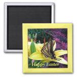 Imán de Pascua de la mariposa de Swallowtail